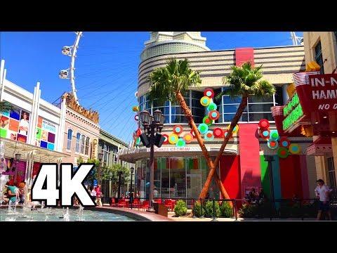 The Linq Promenade Las Vegas 4K Tour