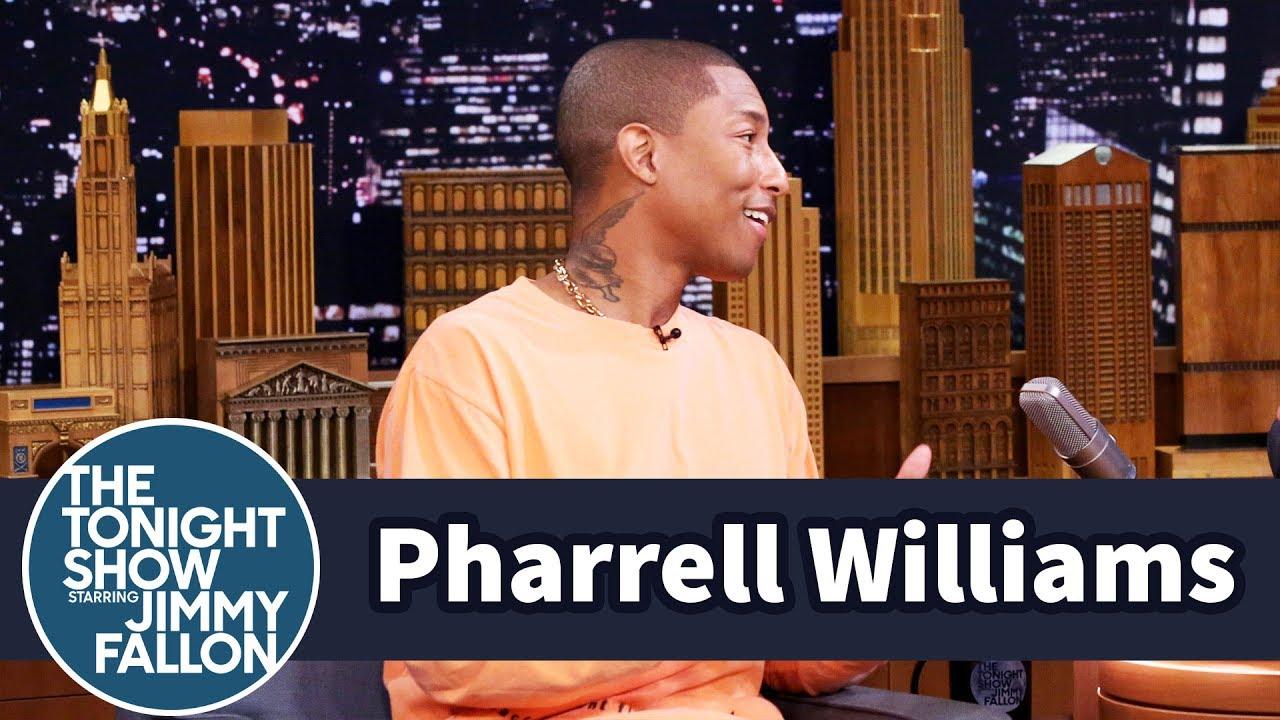 Pharrell Williams' Triplets Harmonize When They Cry