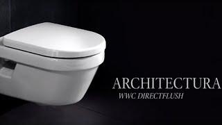 Обзор безободкового  унитаза Villeroy & Boch Architectura