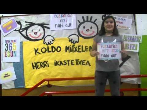 Euskararen eguna 2015-Koldo Mitxelena Ikastetxea 01