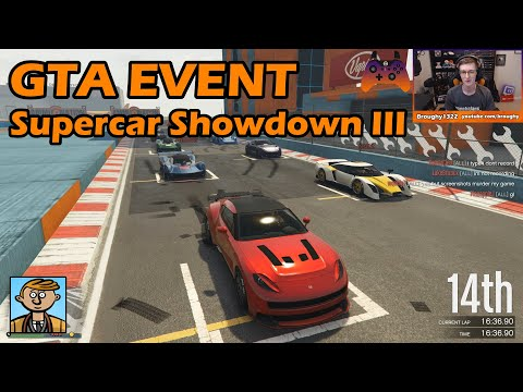 Supercar Showdown III - GTA Live Racing #58