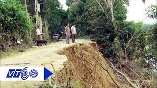 Lở đất kinh hoàng đe dọa dân Hương Khê    VTC