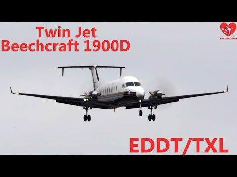 Twin Jet Beechcraft 1900D│Germany, Berlin-Tegel TXL│16.03.17