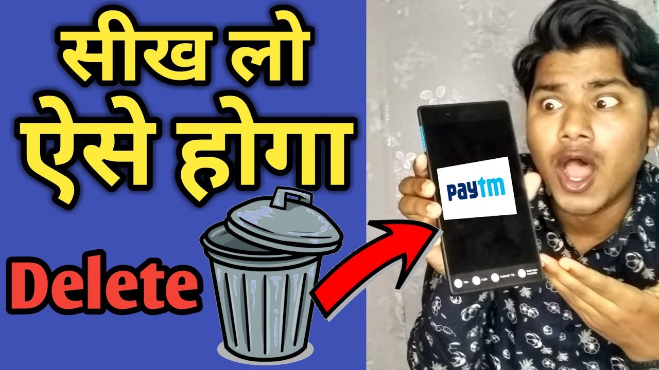 How to remove paytm merchant accounting