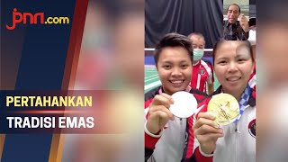 Hubungi Greysia Polii/Apriyani Rahayu, Jokowi: Pertahankan Tradisi Emas