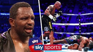 Dillian Whyte on being knocked down against Oscar Rivas & being mandatory challenger for Wilder
