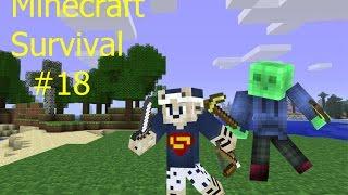 Minecraft Survival Part 18  Denis ist noch dabei
