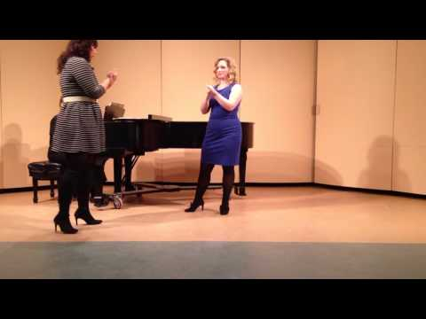 Jennifer Rowley Vocal Masterclass - Hartt School of Music 3/7