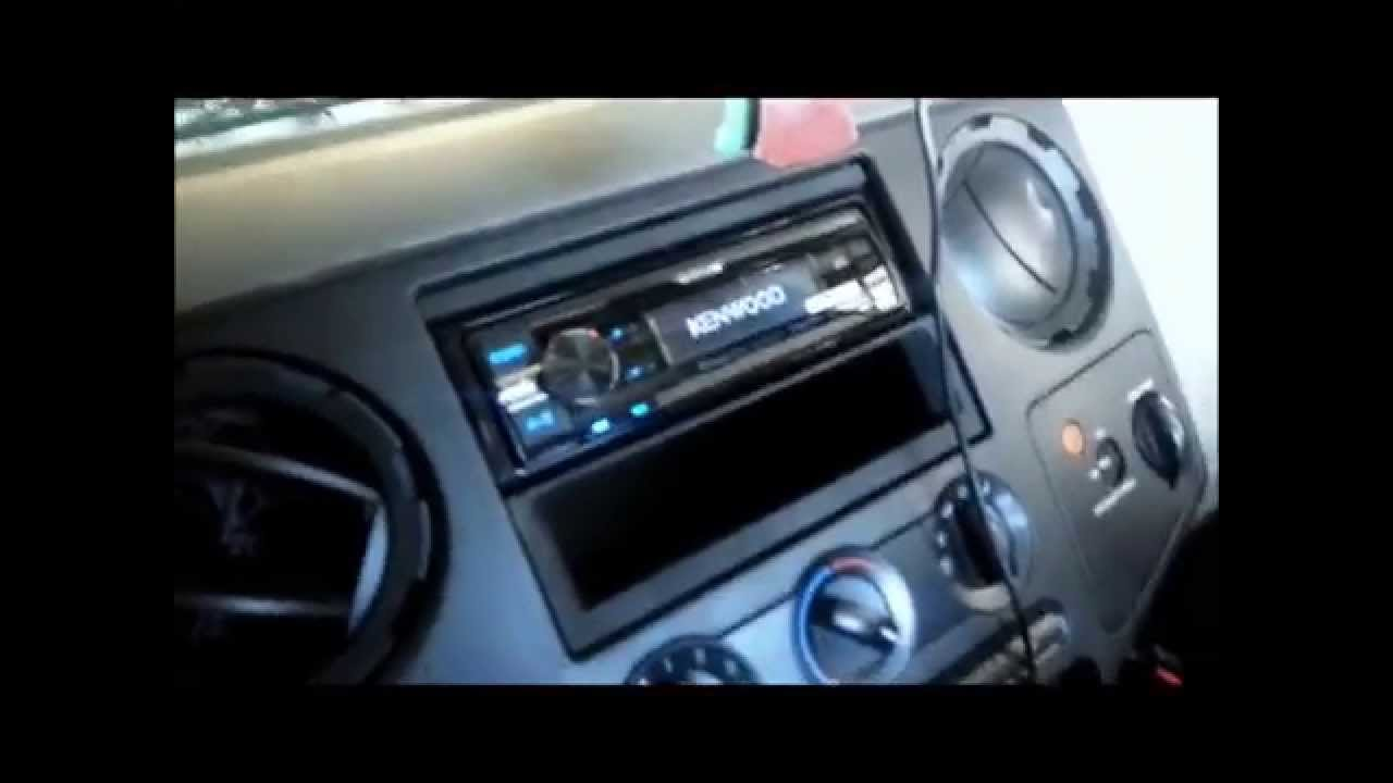 ford super duty radio wiring diagram suzuki vl 1500 2008 2011 removal and install youtube premium