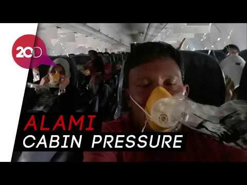 Detik-detik Sebelum Pesawat Lion Air Mendarat Darurat