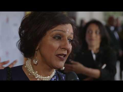 The 7th Asian Awards  Meera Syal CBE  Red Carpet