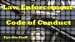 Police / Law Enforcement Code of Ethics : Eye-On-Stuff