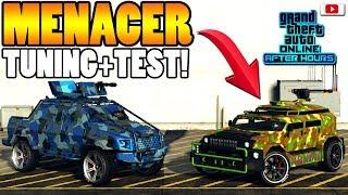 😳So Schlecht Wie Alle Sagen?? HVY MENACER Tuning+Test!😳 [GTA 5 Online After Hours Update DLC]