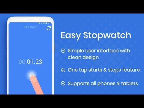 Easy Stopwatch - Just tap to start