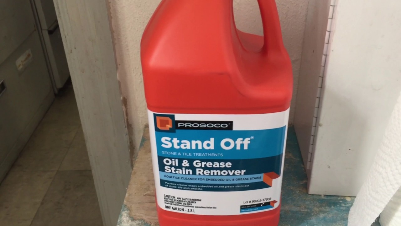Stand Off Oil And Grease Stain Remover