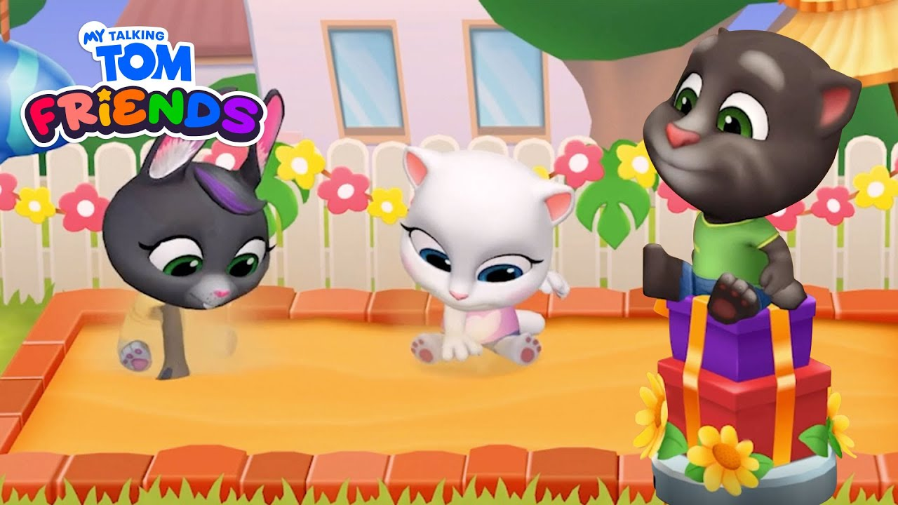 😜 Tom's Crazy New Ride! 😮 NEW My Talking Tom Friends Gameplay