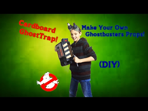 Make Your Own Ghost Trap And Ecto Goggles! (DIY)