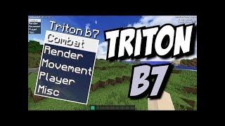 чит triton b7 для майнкрафт