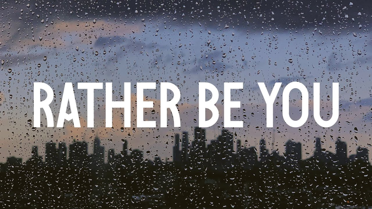 Rather Be You Tom Gregory