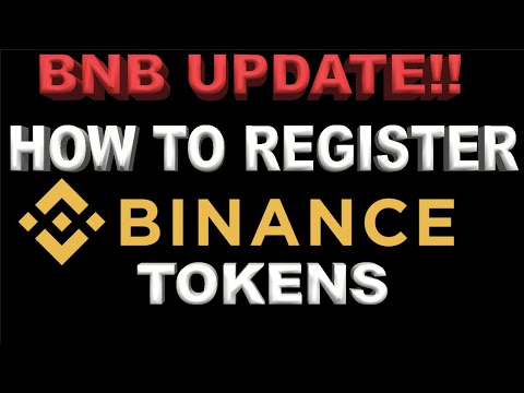 Binance Update! How To Register BNB Coins