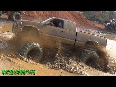 Thumbnail: BIG MUD TRUCKS AT MUDFEST 2014