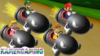 Mario Party 9 Minigames Luigi vs Mario vs Peach vs Daisy Master