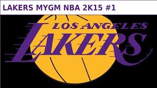 NBA 2K15 Lakers MyGM (PC) #1 - Trades!
