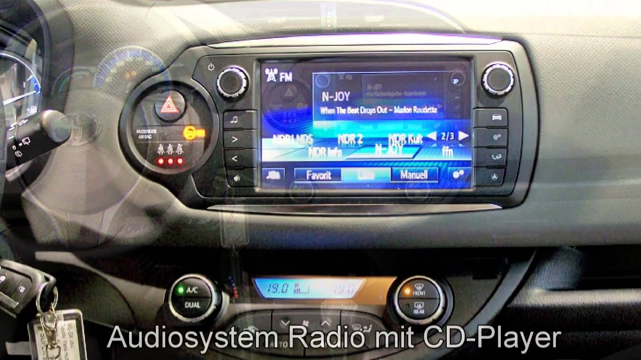 toyota yaris hybrid comfort automatik 117888 schneeweiss 2014 autohaus s k neu wulmstorf youtube. Black Bedroom Furniture Sets. Home Design Ideas