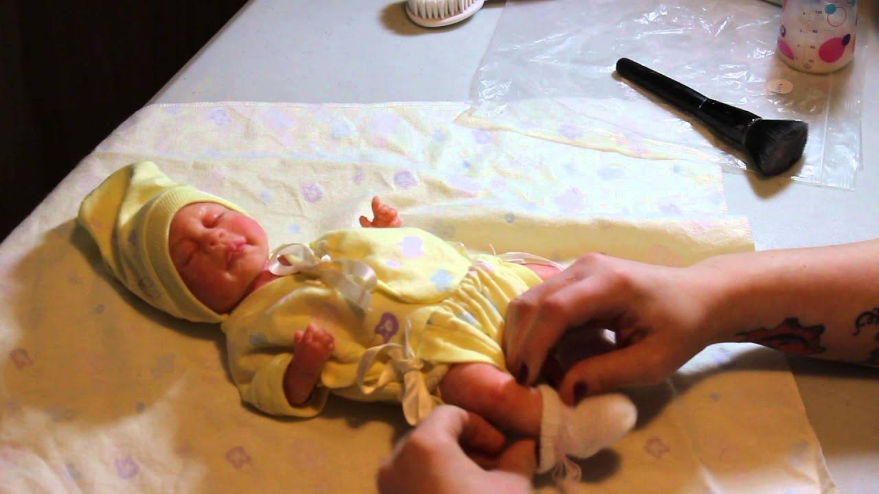Full Body Silicone Baby Girl Preemie Livia Bath And