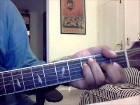 Guitar gulabi aankhen guitar tabs : Gulabi Aankhen Guitar Lesson Full Song With Chords - Shireesh ...