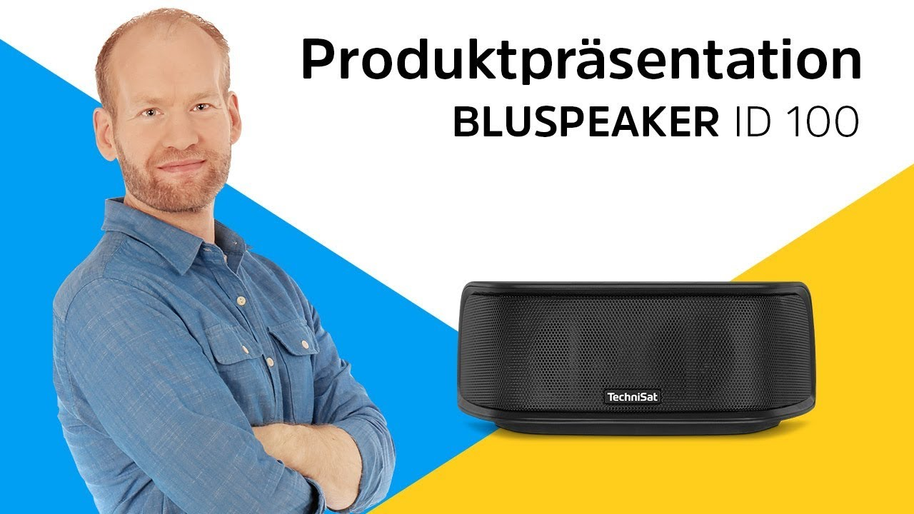 Video: BLUSPEAKER ID 100 | Bluetooth-Lautsprecher für starken Sound. | TechniSat