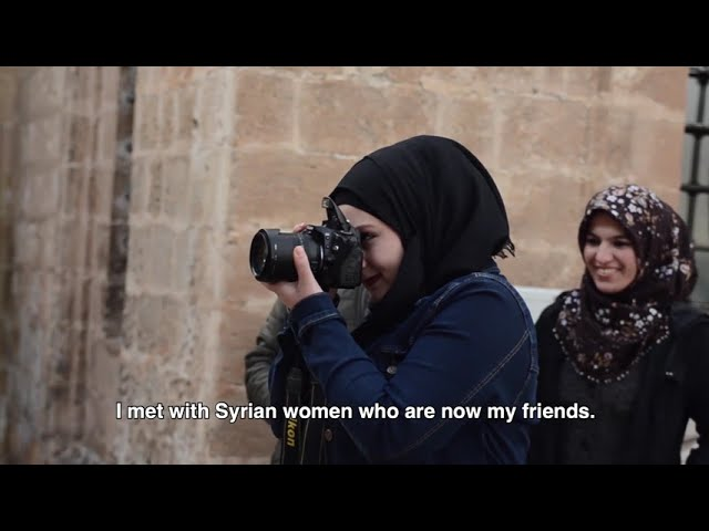Local and refugee women in Turkey build friendships and generate income