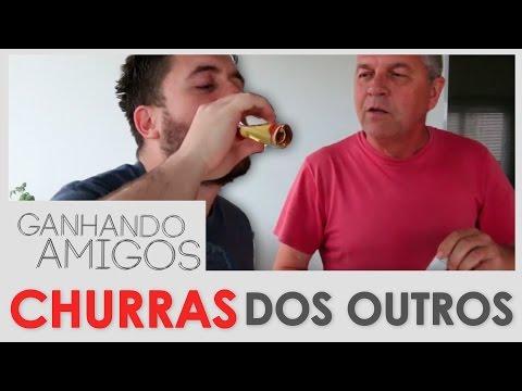 GANHANDO AMIGOS #04 - CHURRASCO NA CASA DOS OUTROS (Blumenau, SC)