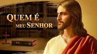 """Filme gospel completo dublado 2018 """"Quem é meu Senhor"""" Como entender a relação entre a Bíblia e Deus"""