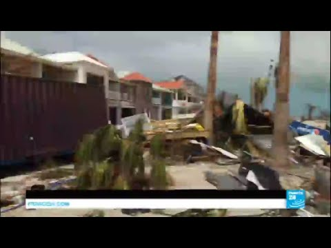 "Hurricane Irma: French Caribbean islands ""unrecognizable"", Turks and Caicos ""smashed"""
