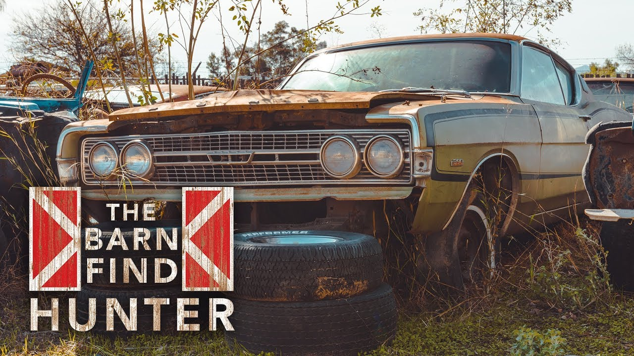 Mega-stash of old Fords and Mercurys, many with 390 V-8 engines   Barn Find  Hunter - Ep  33