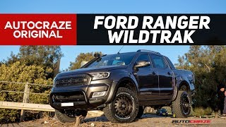 💀 TERMINATOR T-1000 💀 Ford Ranger Build: GRID GD03 Rims, Tyres, E-board Side Steps | AutoCraze 2017
