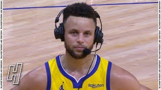 Stephen Curry Talks About His Butt Pad, Postgame Interview - Bucks vs Warriors | April 6, 2021