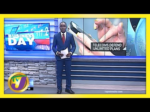 Jamaica's 2 Major Telecom Companies Defend Unlimited Plans   TVJ News