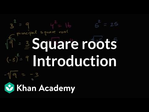 Introduction To Square Roots | Numbers And Operations | 8th Grade | Khan Academy