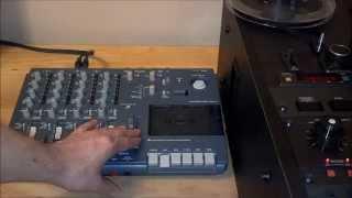 Tascam 414 Portastudio MKII Cassette Tape Analog Mixdown tracks Otari HD