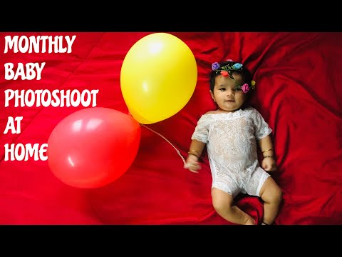 2 Months Old Baby Photoshoot At Home Diy Photoshoot Ideas