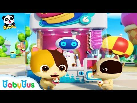 Ice Cream Song  Learn Colors  Nursery Rhymes  Kids Songs  BabyBus