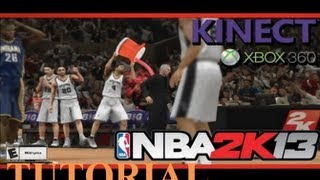 NBA 2k13 Gameplay Tips and Tricks: How to Effectively Use Kinect (Nba 2k13 Fundamentals Tutorial)