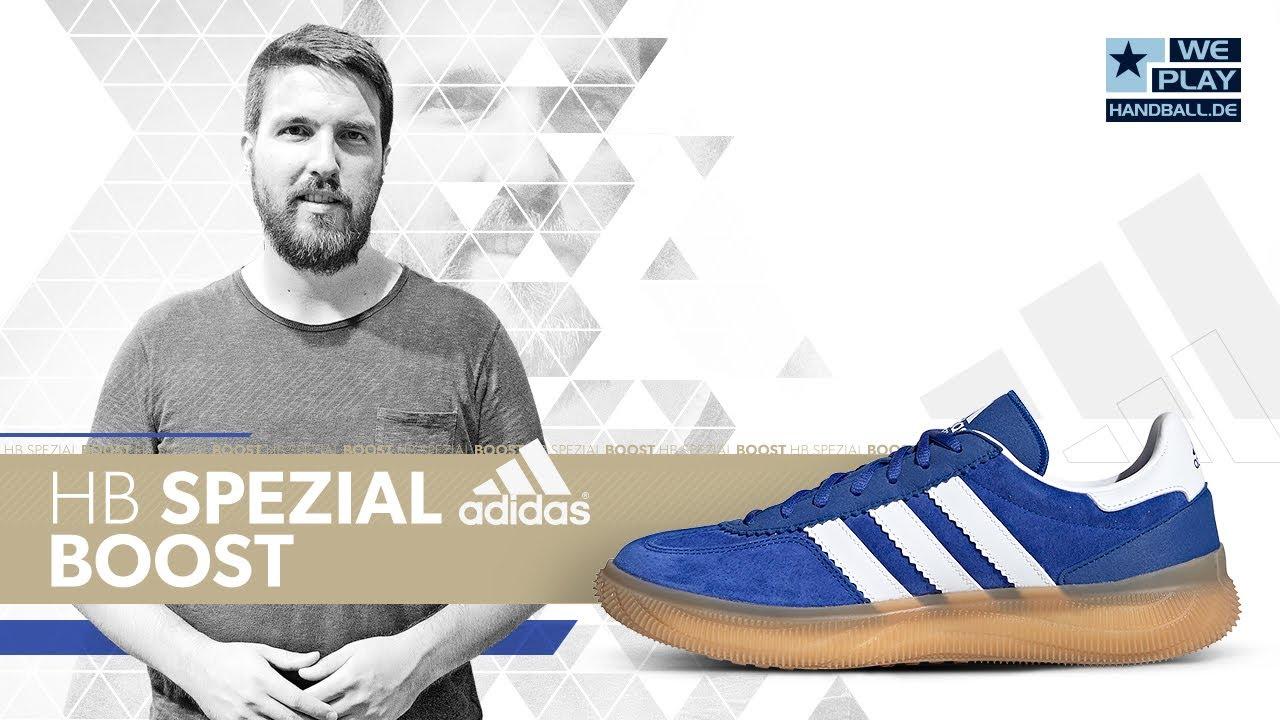 amplia selección de colores y diseños procesos de tintura meticulosos Venta de descuento 2019 Adidas HB Spezial Boost - Review Handballschuhe 2019/20 - YouTube