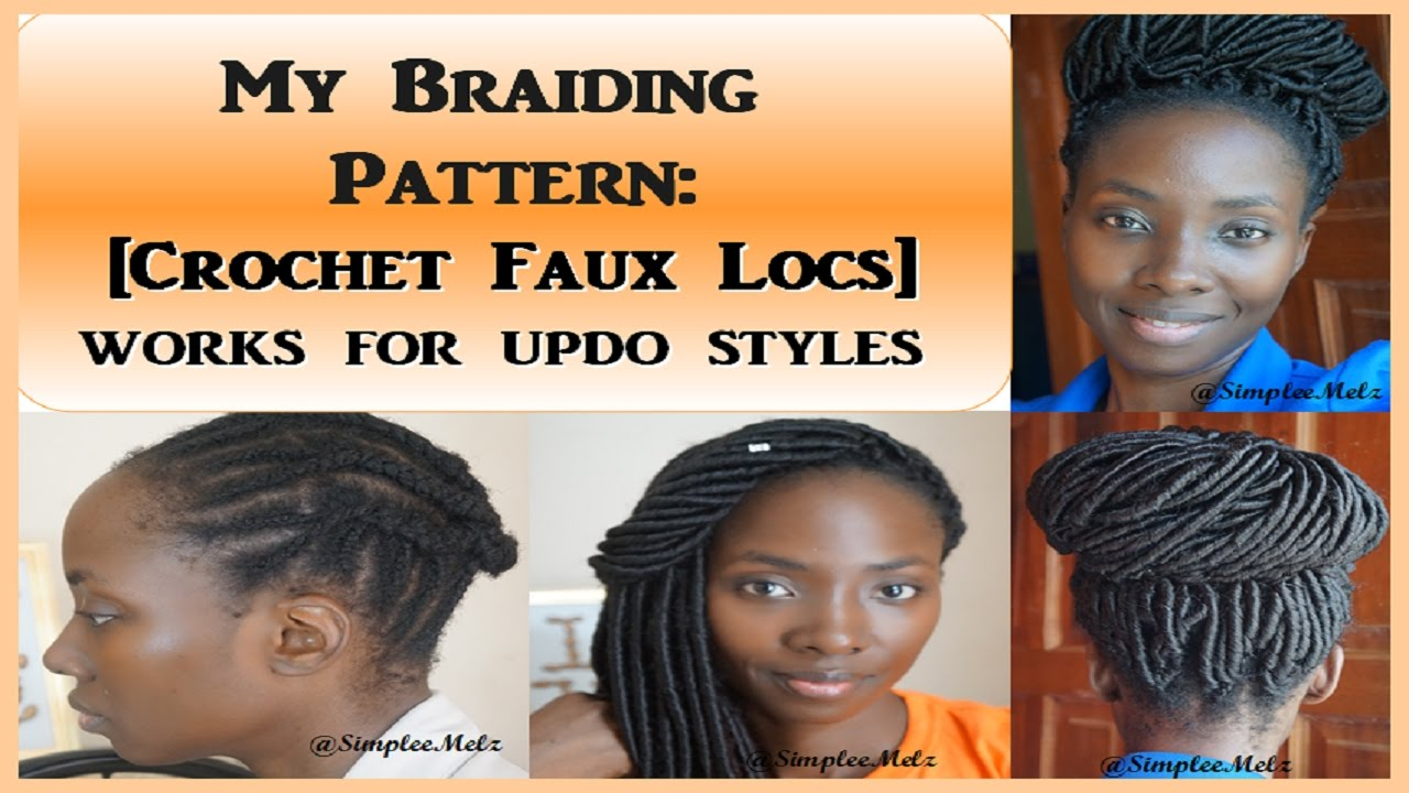 Braid Pattern Demo Crochet Faux Locs What They DONT Show - Diy braid pattern
