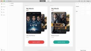 Творець - виберіть відео інтерфейс Одушевленност картки