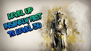 Warframe: How To Level Up Weapons From Rank 0 - 30 In 15 Minutes - READ DESCRIPTION