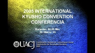 International Kyusho Convention. Conferencia