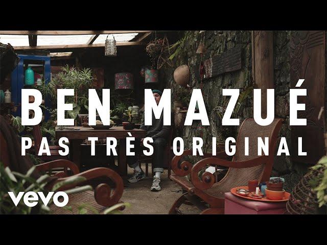 Ben Mazué - Pas très original